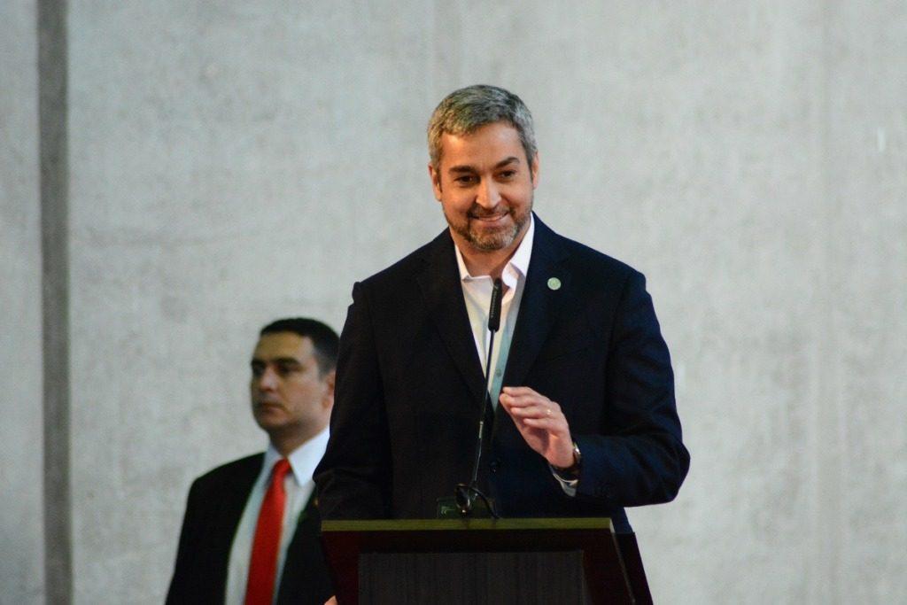 Abdo Benítez presidente paraguayo