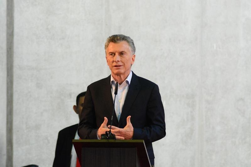 Mauricio Macri presidente argentino